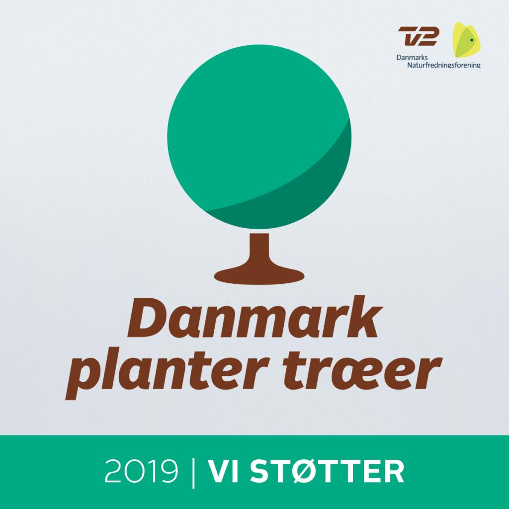 Vi støtter - Danmark planter træer